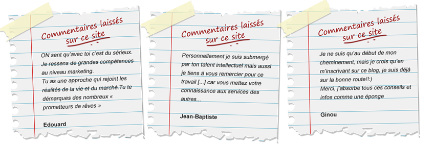 Commentaires !
